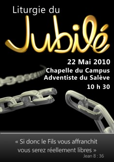 Liturgie du Jubil 22 mai 2010