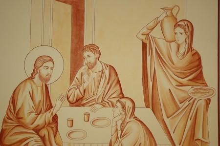 Le Christ à Béthanie, Monastère de Bose
